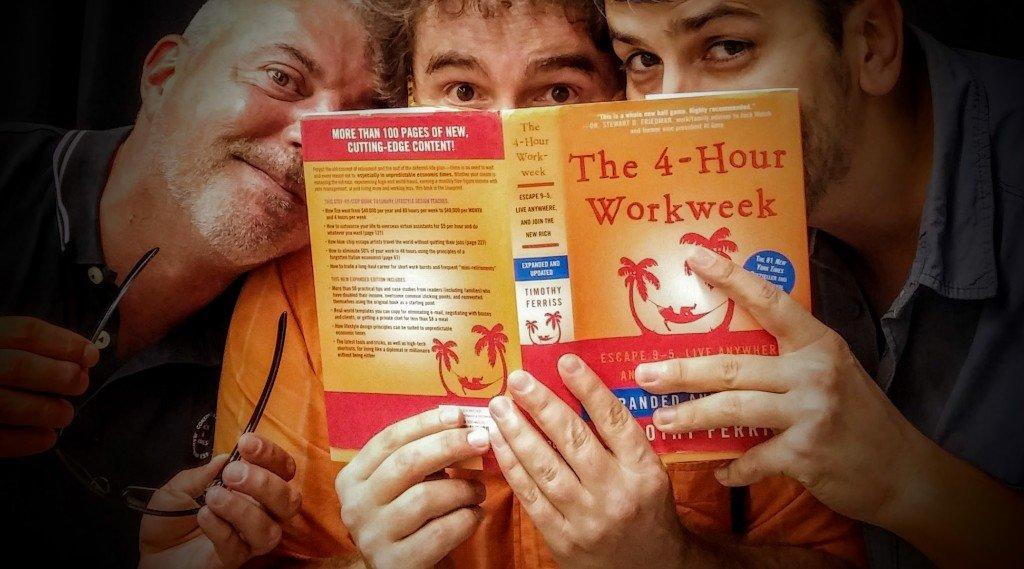 "Zetatesters disfrutando de ""La semana laboral de 4 horas"" de Tim Ferriss"
