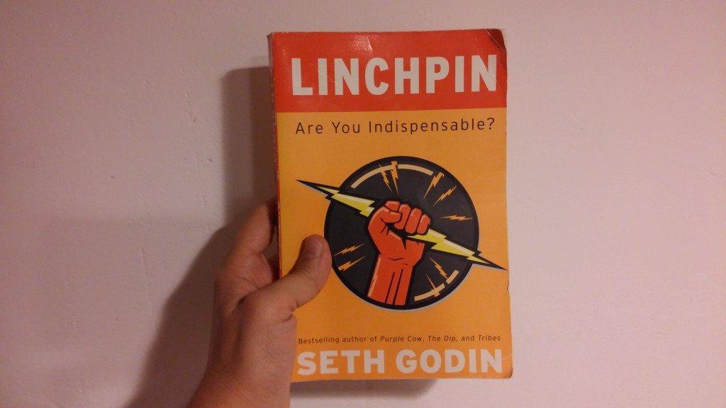 Portada del libro Linchpin, ¿Eres imprescindible? Seth Godin