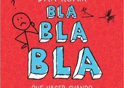 """Portada del libro """"Bla bla bla"""" de Dan Roam"""