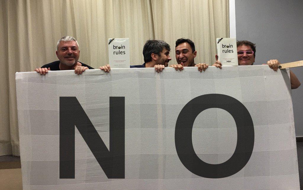 "Saber decir NO y ""Exprime tus neuronas"" de John Medina"