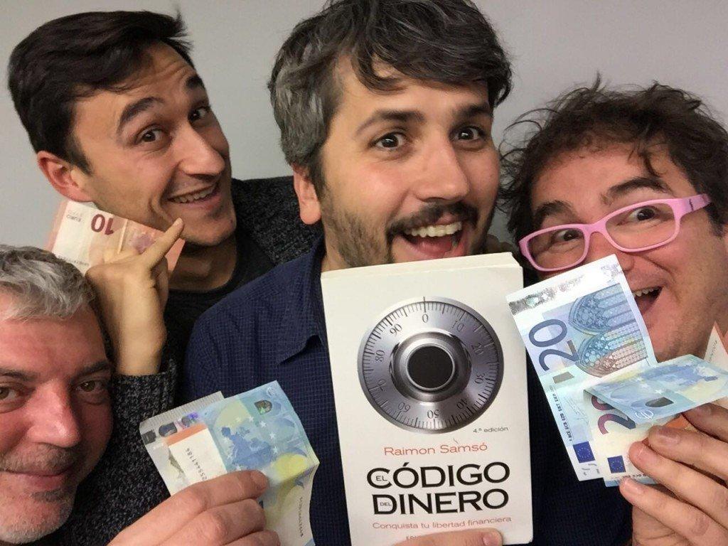 """Ingresos pasivos y """"El código del dinero"""" de Raimon Samsó"""
