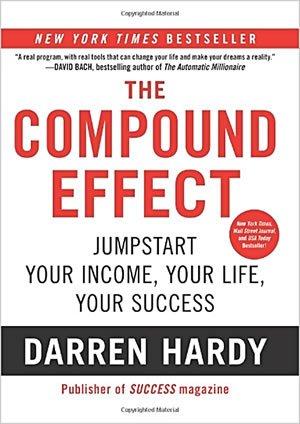 "Portada del libro ""The Compound Effect"" de Darren Hardy"