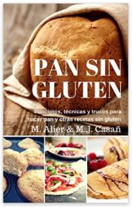 """Portada del libro """"Pan sin gluten"""" de Marc Alier y Maria José Casañ"""