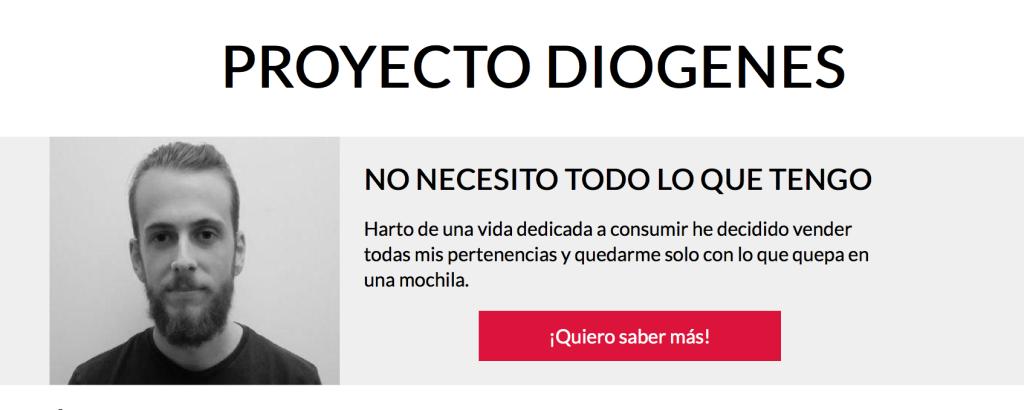 Proyecto Diógenes - Gorka Pitt