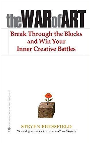 "Portada del libro ""The War of Art"" de Steven Pressfield-libro"