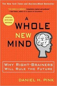 """Portada del libro """"A Whole New Mind"""" de Daniel H. Pink"""