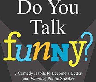 "Portada del libro ""Do You Talk Funny?"" de David Nihill"