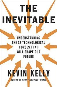 """Portada del libro """"The inevitable"""" de Kevin Kelly"""