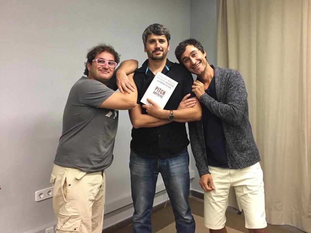 Marc Alier, Carles Caño y Dani Amo