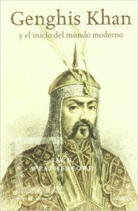 "Portada del libro ""Genghis Khan"" de Jack Weatherford"