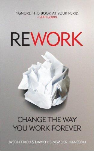"Libro ""Rework"" de Jason Fried y David Heinemeier Hansson"