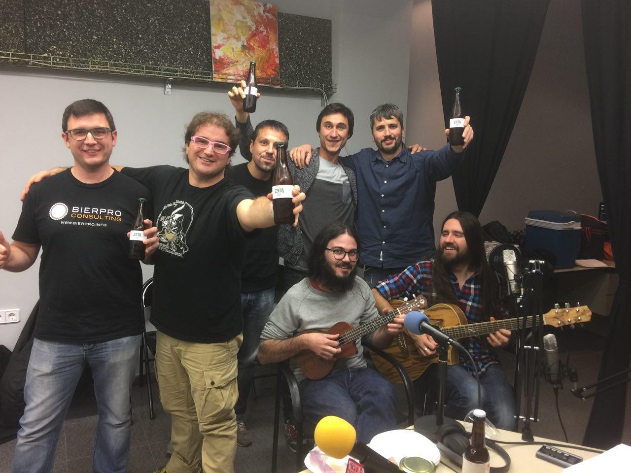 Carlos Martínez, Marc Alier, Daniel Amo, Daniel Bolsa, Uri Nieto, Xavi Aracil y Carles Caño