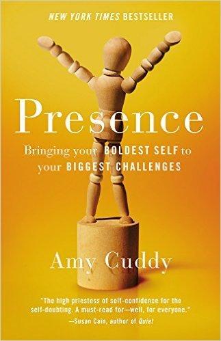 """Portada del libro """"Presence"""" de Amy Cuddy"""