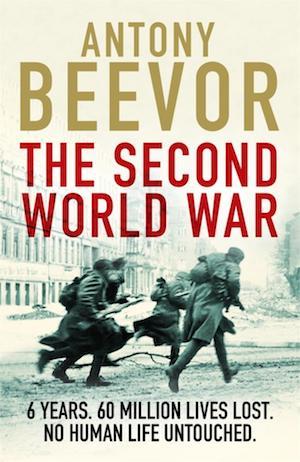 """Portada del libro """"The Second World War"""" de Antony Beevor"""
