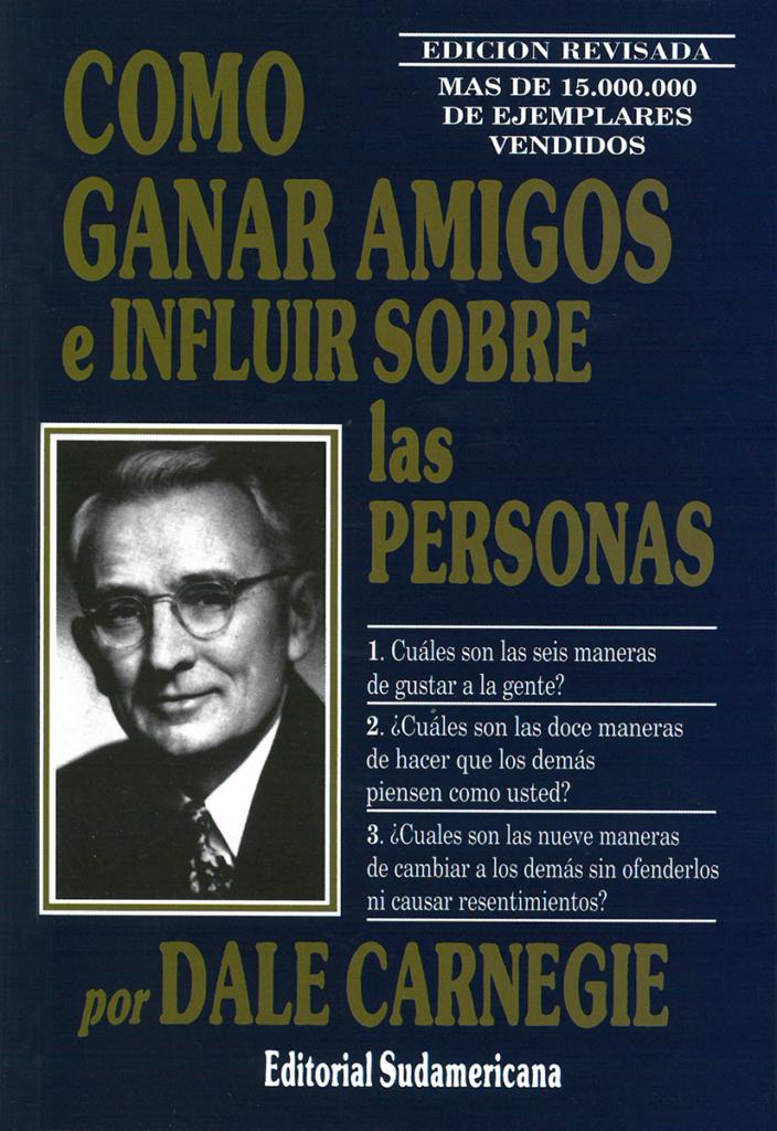 """Portada del libro """"Cómo ganar amigos e inluir sobre las personas"""" de Dale Carnegie"""
