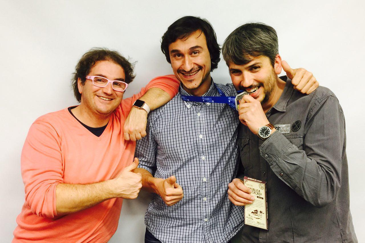 Marc Alier, Daniel Amo y Carles Caño