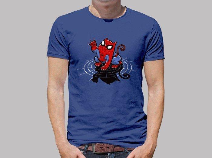 """Camiseta del Gato """"Araña"""""""