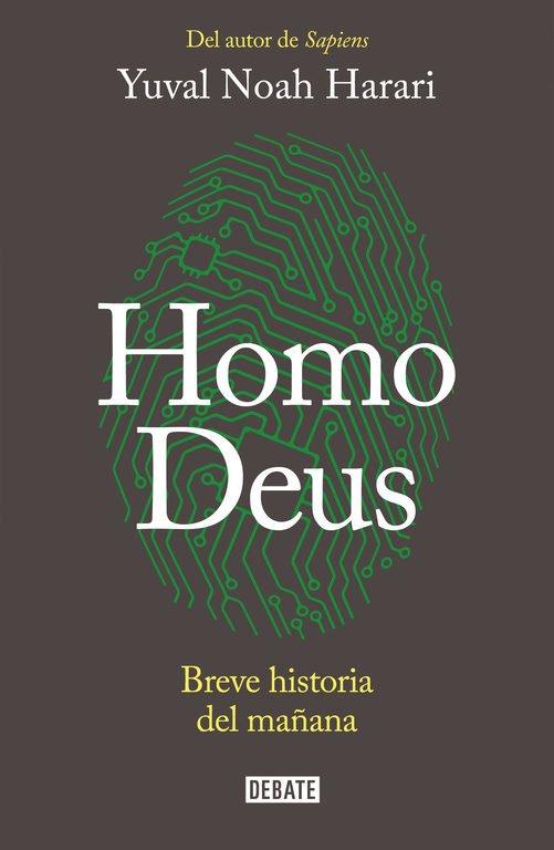 """Portada del libro """"Homo Deus"""" de Yuval Noah Harari"""
