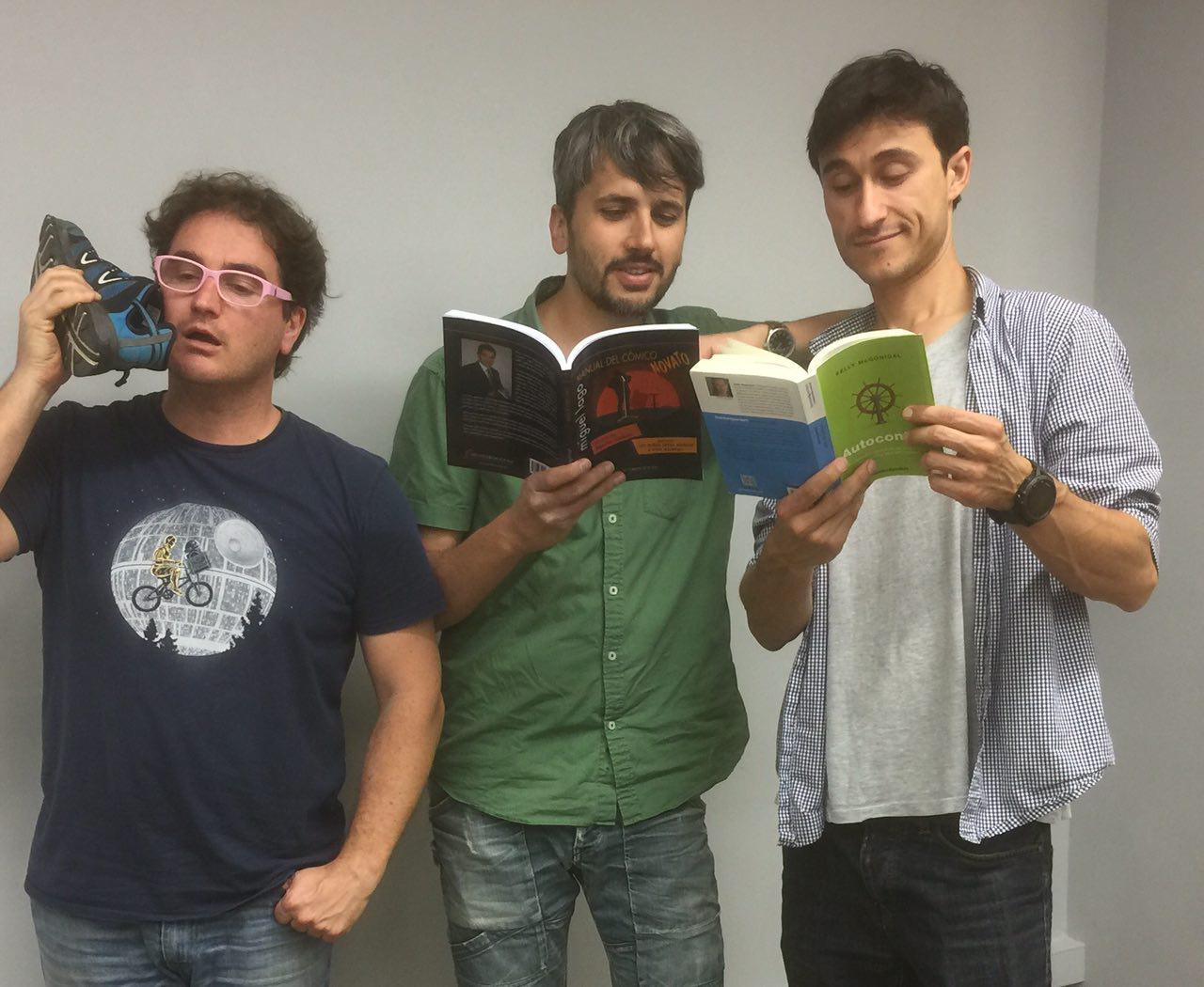 Marc Alier, Carles Caño y Daniel Amo en episodio sobre Fuerza de Voluntad