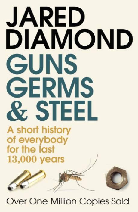 "Portada del libro ""Guns, Germs and Steel"" de Jared Diamond"