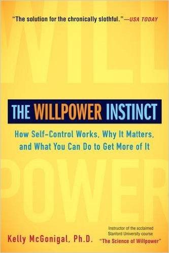 """Portada del libro """"The Willpower Instinct"""" de Kelly McGonigal"""