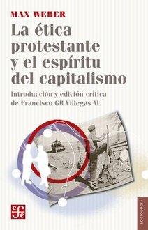 """Portada del libro """"La ética protestante y el espíritu del capitalismo"""" de Max Weber"""