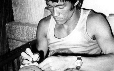 EB 27 Los diarios personales de Bruce Lee