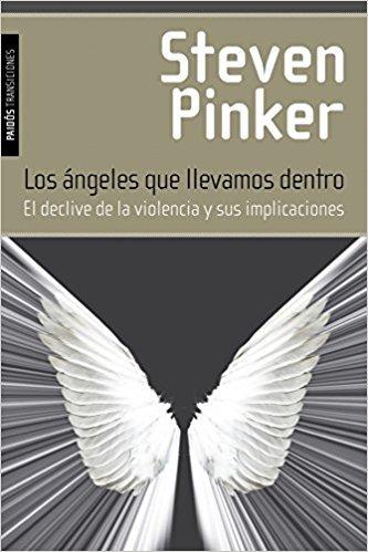 """Portada del libro """"Los ángeles que llevamos dentro"""" de Steven Pinker"""