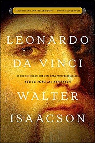 """Portada del libro """"Leonardo Da Vinci"""" de Walter Isaacson"""