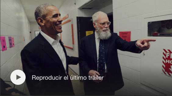 Barack Obama y David Letterman