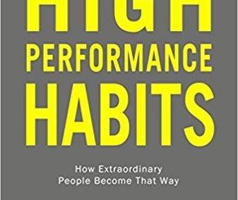 """Portada del libro """"High Performance Habits"""" de Brendon Burchard"""