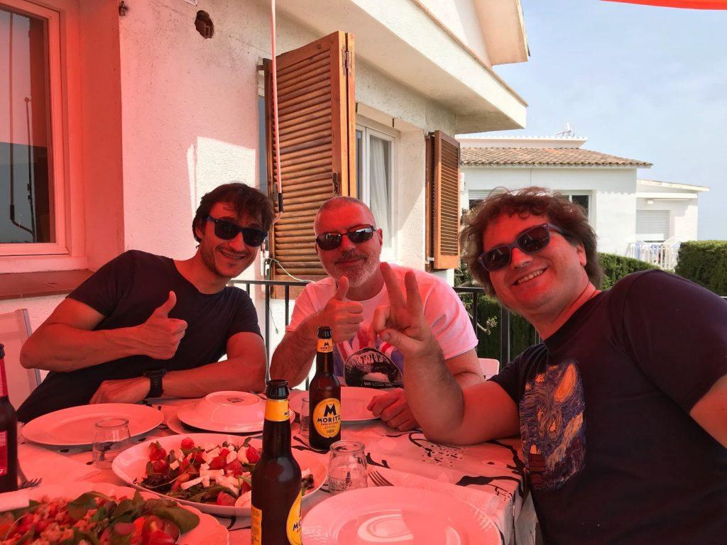 Dani, Tomàs y Marc