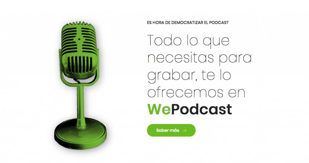 Todo lo que necesitas para grabar podcasts - WePodcast