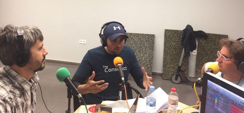 Carles Caño, Rick Téllez y Marc Alier