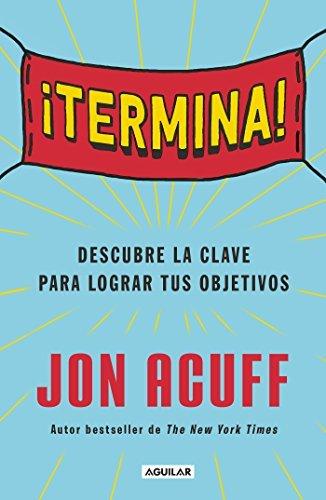 "Libro ""Termina"" de Joan Acuff"