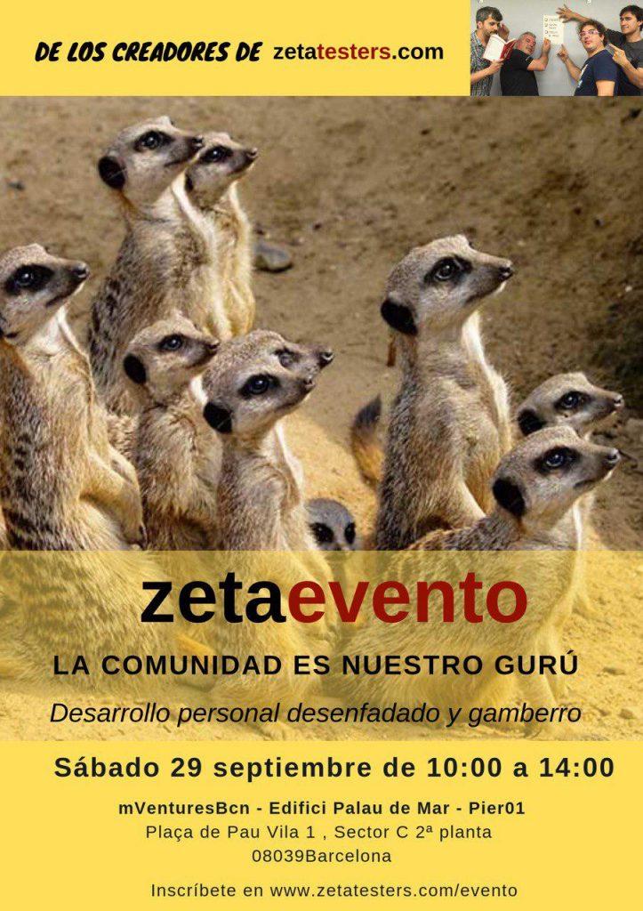 Poster del Zetaevento 2018