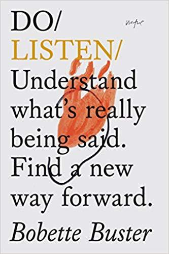 """Portada del libro """"Do Listen"""" de Bobette Buster"""