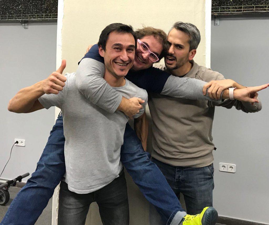 Dani, Marc y Carles